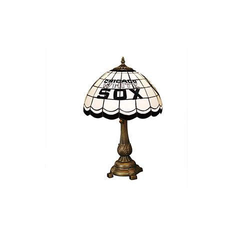 MLB Tiffany-Style Table Lamp - Chicago White Sox