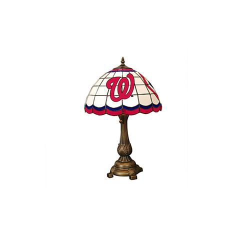 MLB Tiffany-Style Table Lamp - Washington Nationals
