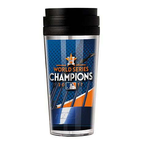 MLB World Series Champ 2017 Travel Tumbler - Astros
