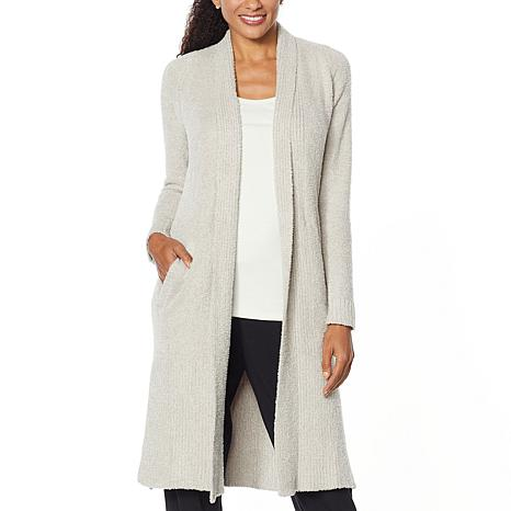 Modernsoul Cozy Knit Open Front Cardigan With Pockets 9184036 Hsn