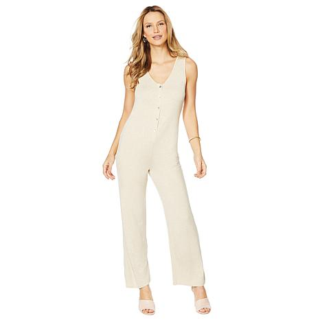ModernSoul® French Terry Lounge Jumpsuit with Pockets