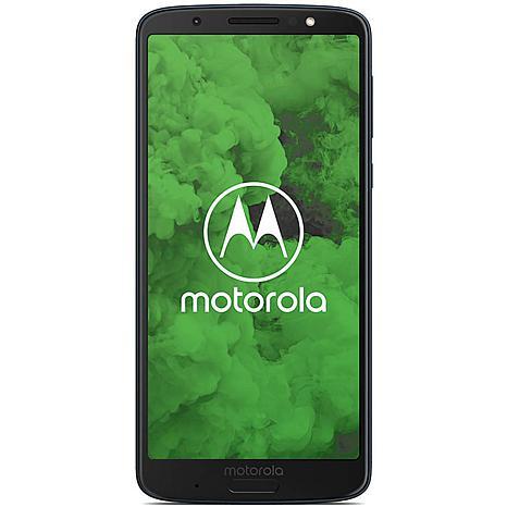 "Motorola G6 Plus 5.9"" 64GB Unlocked GSM Android Smartphone"