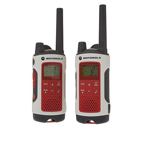 Motorola T480 35-Mile NOAA FRS Radio 2-pack