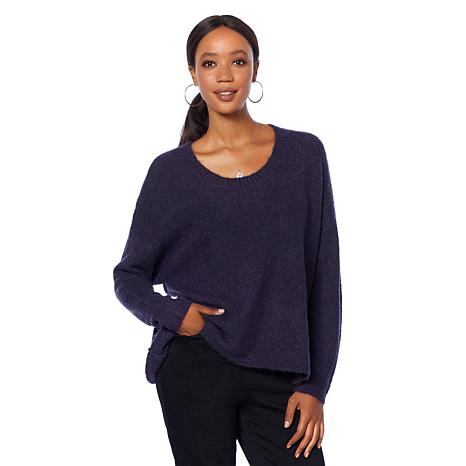 Motto Cozy Knit Pullover Sweater