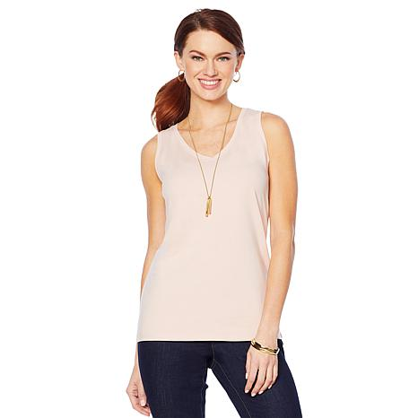 Motto Modern Knit Layering Tank - Fashion