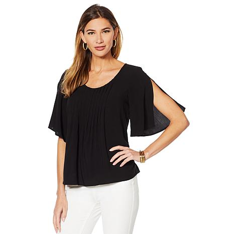 Motto Perfect Pintuck Blouse