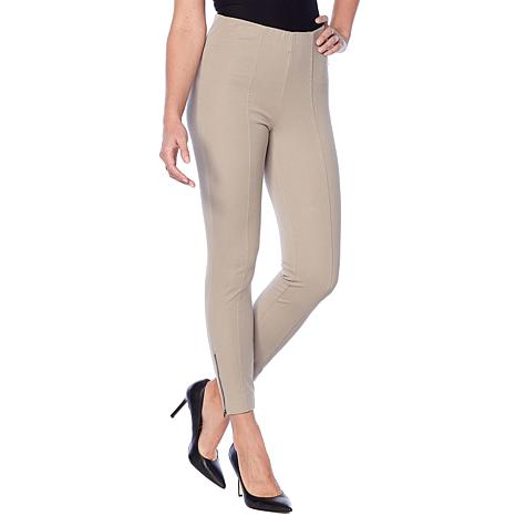 Motto Timeless Twill Pull-On Ankle Pant - Fashion