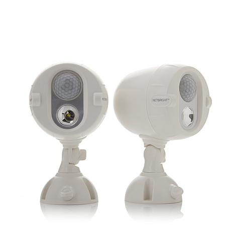 Mr Beams Netbright 2 Pack Wireless Led Networked Security