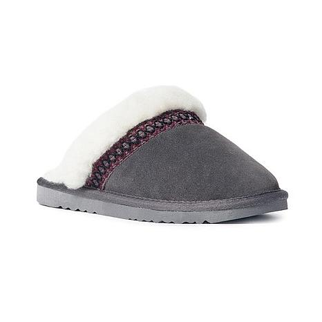 MUK LUKS Dawn Suede Scuff Slipper