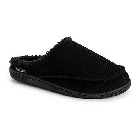 MUK LUKS Men's Corduroy Clog Slippers