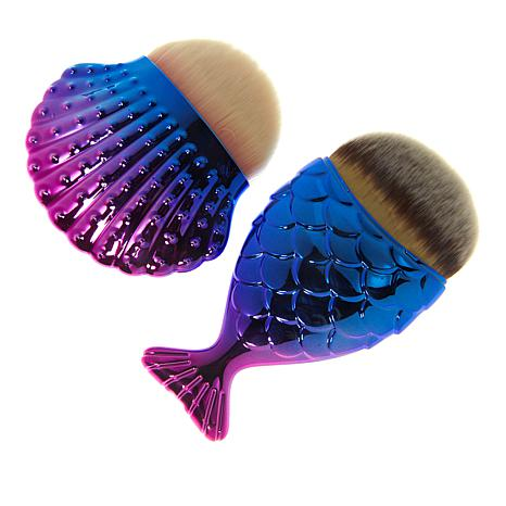 Mystic Chubby Mermaid & Seashell Brush Set