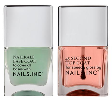 Nails.INC 2-piece Top and Base Coat