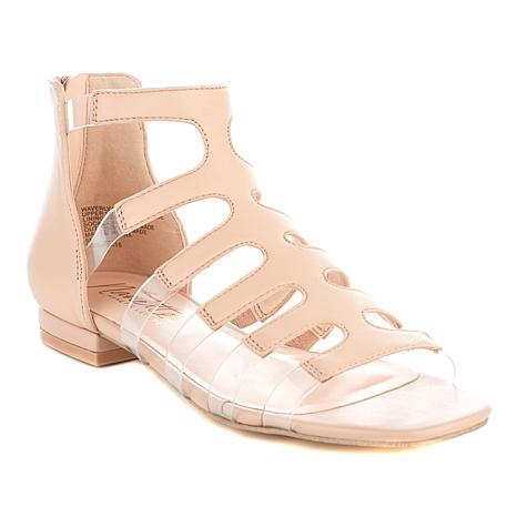 Nanette Nanette Lepore Waverly Leather Caged Sandal