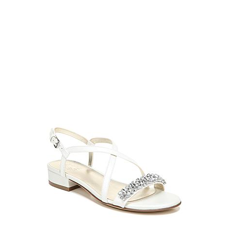 Naturalizer Macy Flat Leather or Fabric Sandal
