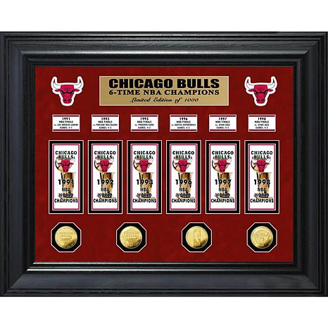 NBA Bulls 6-Time NBA Champs Banner Collection