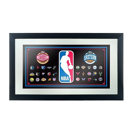 NBA Framed Logo Mirror