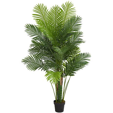 Nearly Natural 6 ft. Hawaii Palm Artificial Tree