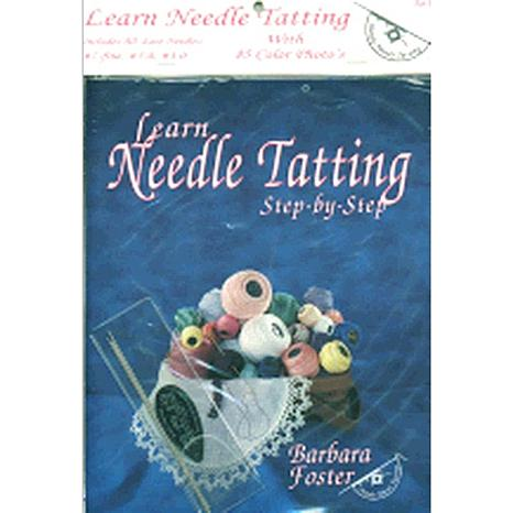 Needle Tatting Set - #7, #5-0, #3-0 Needles Threader