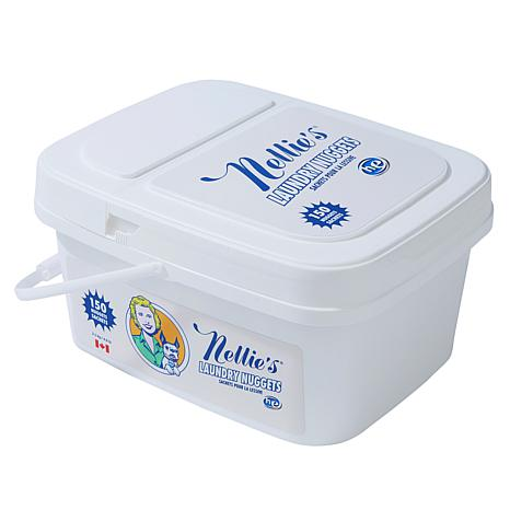 Nellie's All-Natural Laundry Nuggets 150-Load Bucket