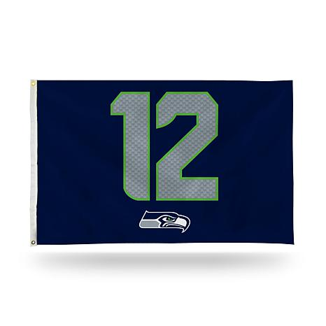 NFL 12th Man Jersey Banner Flag - Seahawks