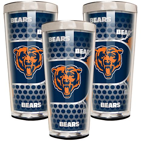 NFL 3-piece Shot Glass Set - Bears