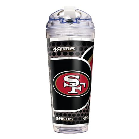 Francisco San Tumbler Double 49ers Acrylic Nfl OzTravel Wall Licensed 24 Officially Y6vg7byf