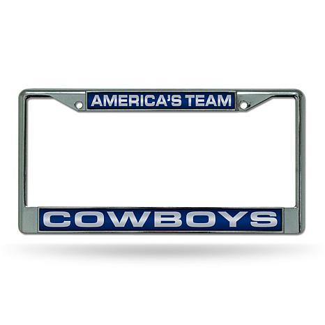 """NFL """"America's Team"""" Laser License Plate Frame-Cowboys"""