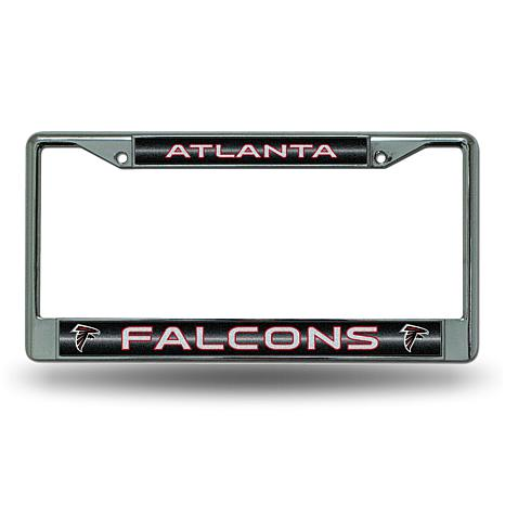 NFL Bling Chrome Frame - Falcons