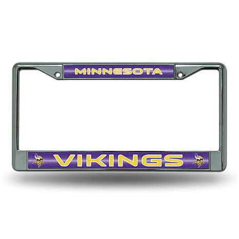 NFL Bling Chrome Frame - Vikings
