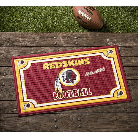 NFL Embossed Door Mat - Redskins