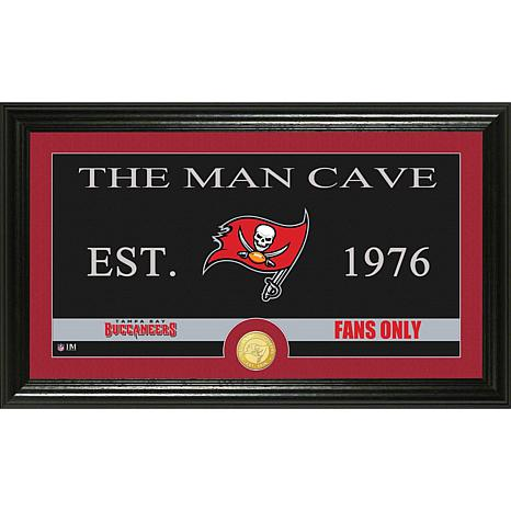 NFL Man Cave Bronze Coin Photo Mint-Buccaneers