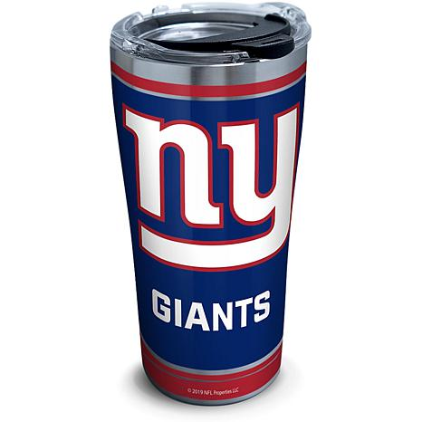 NFL New York Giants Touchdown 20 oz Stainless Steel Tumbler with lid