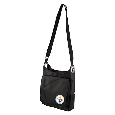NFL Pittsburgh Steelers Color Sheen Cross-Body Purse