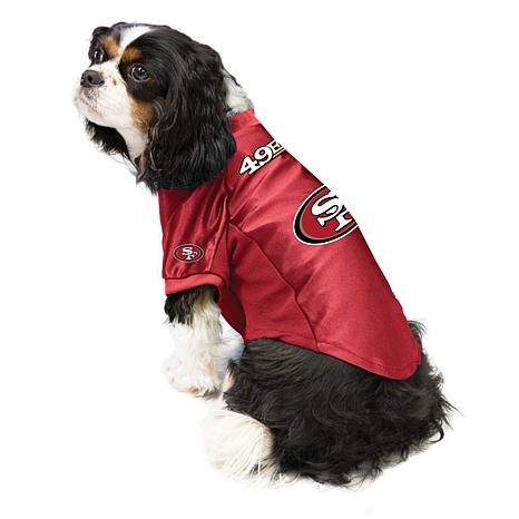 best cheap 609ae 5b901 NFL San Francisco 49ers Small Pet Stretch Jersey