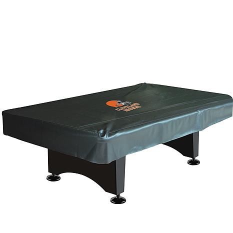 NFL Team Logo Pool Table Cover - Browns