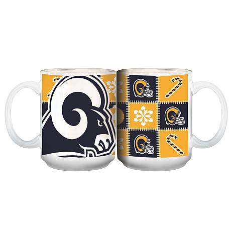 online retailer 2cf34 3ae8e NFL Ugly Sweater Mug - Los Angeles Rams