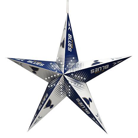 NHL St. Louis Blues Star Lantern