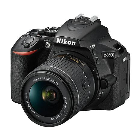 Nikon D5600 24.2MP DSLR Camera, Lens, 16GB Memory Card and Software