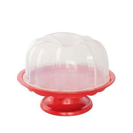 Plastic Cake Stand With Dome Lid
