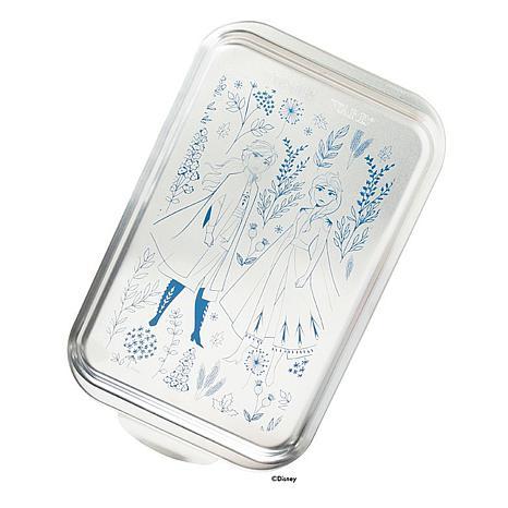 Nordic Ware Frozen II 9 x 13 Metal Cake Pan with Lid