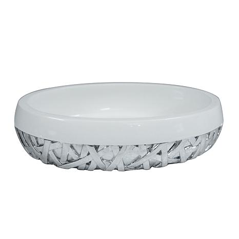 Nu-Steel Bali White Soap Dish