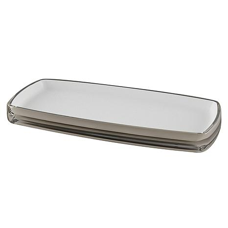 Nu-Steel Roly Poly White Amenity Tray