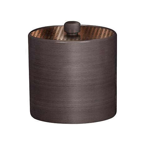 Nu-Steel Selma Oil-Rubbed Bronze Cotton Swab Container