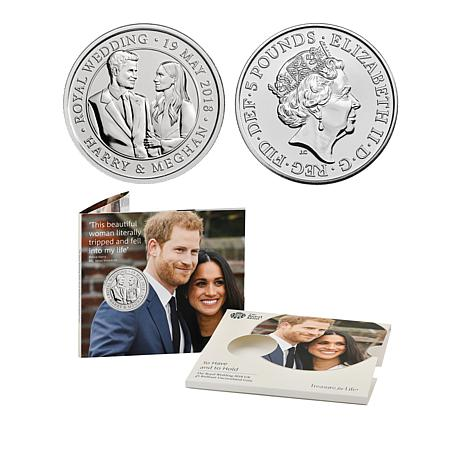 Official Prince Harry & Meghan Markle Royal Wedding BU Coin