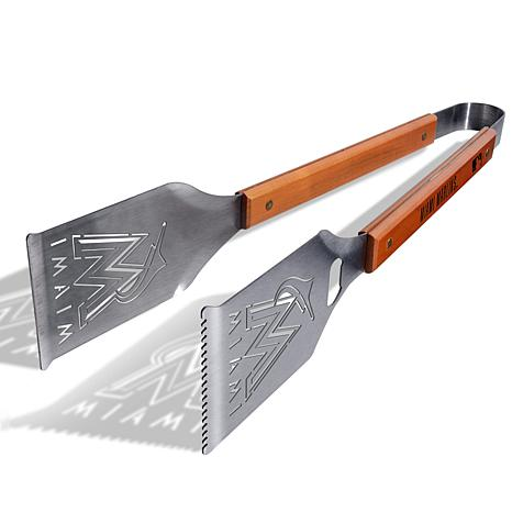 Officially Licensed MLB Grill-A-Tongs - Miami Marlins