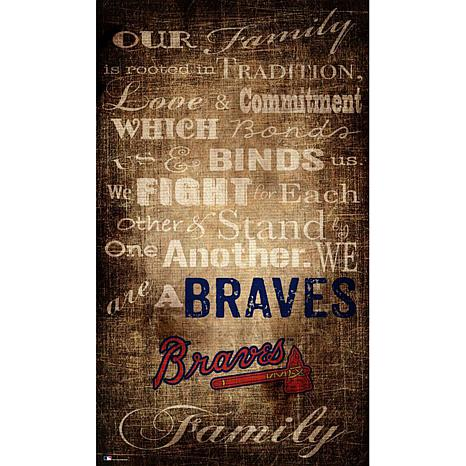 Officially Licensed MLB Our Family Canvas