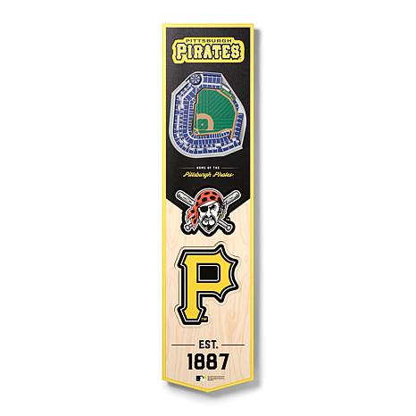 Officially Licensed MLB Pittsburgh Pirates 3D Stadium Banner