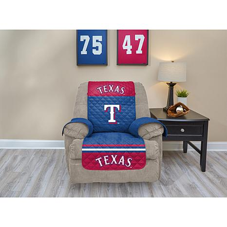 Officially Licensed MLB  Recliner Furniture Protector - Rangers