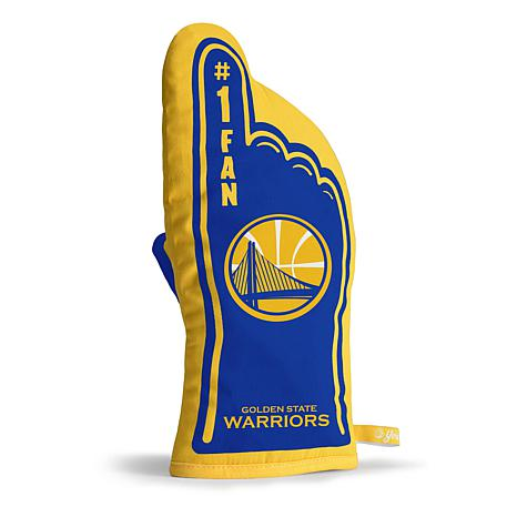 Officially Licensed NBA #1 Fan Oven Mitt - Golden State Warriors