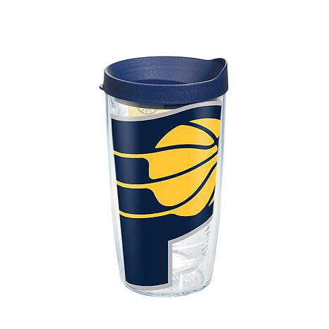 Officially Licensed NBA 16 oz Tumbler and Lid- Indiana Pacers